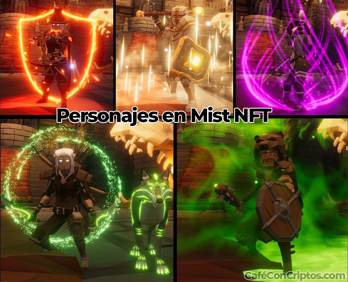 Personajes en Mist