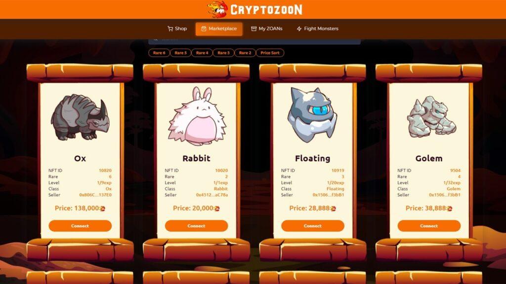 cryptozoon es rentable