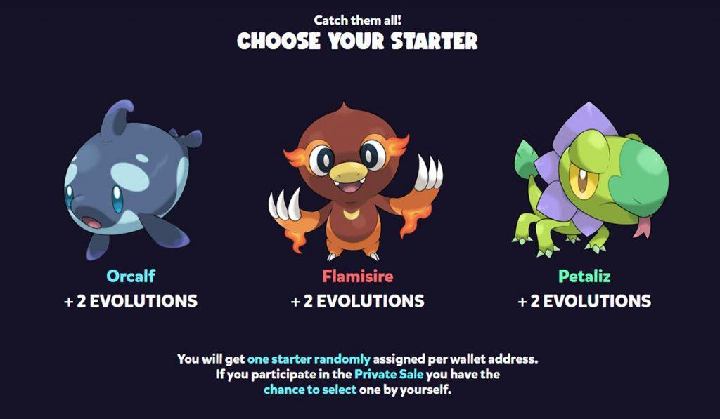 Block Monsters es un Pokémon NFT encubierto con fecha de lanzamiento a finales del 2021