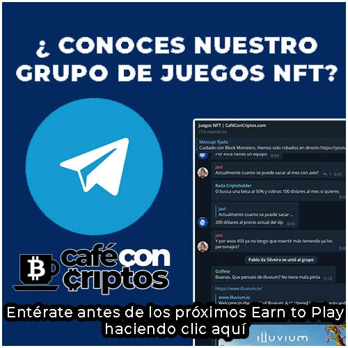 GRUPO DE TELEGRAM DE JUEGOS NFT